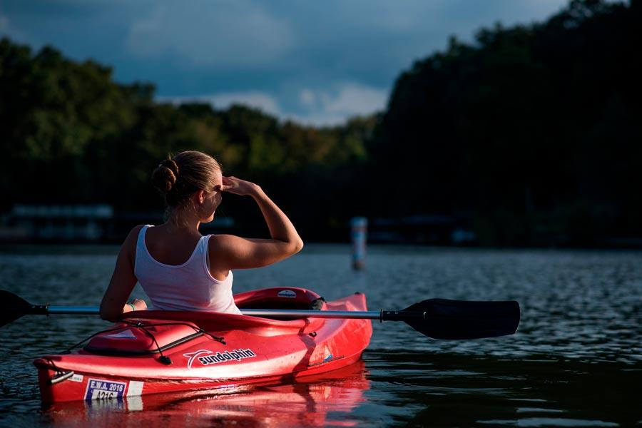 Ruta en kayak por el Pantano de El Chorro