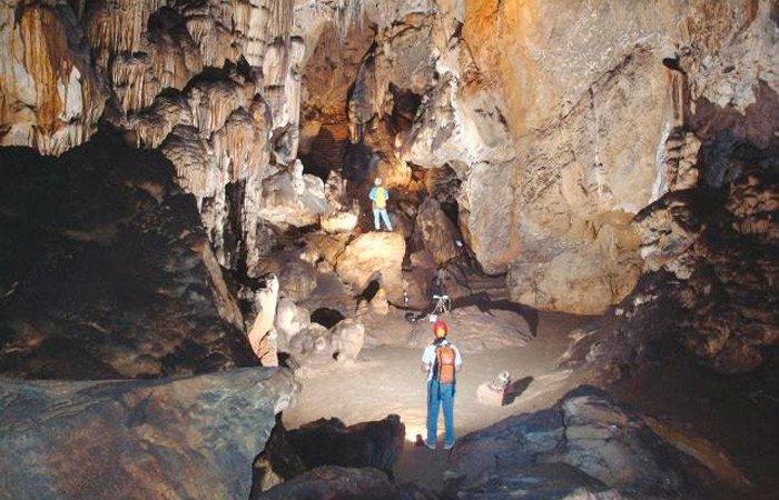 Cueva de Ardales, considerada como la cueva con pinturas más antiguas de toda europa